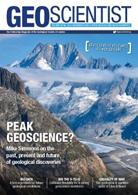 Geoscientist Nov 2019 cover
